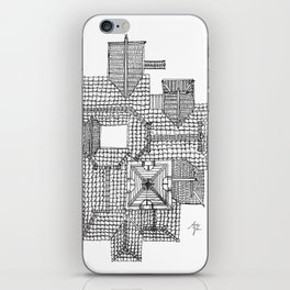 Taiwanese roofscapes 01 iPhone Skin
