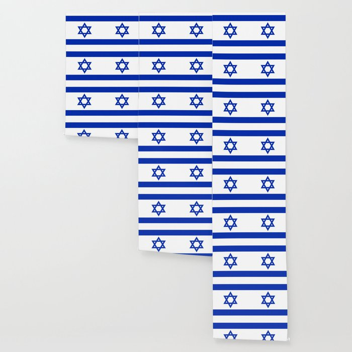 National flag of Israel Wallpaper