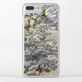Camouflage texture Clear iPhone Case