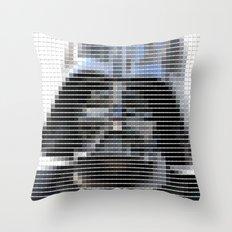 Darth Vader - StarWars - Pantone Swatch Art Throw Pillow
