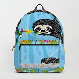 The Sloth and The Hummingbird Backpack