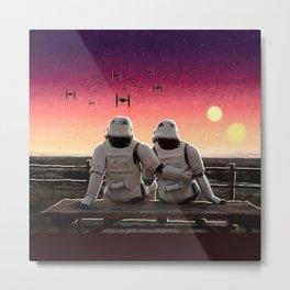 Stormtrooper Companion Metal Print