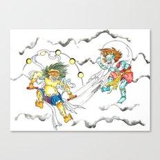 Fujin Raijin Canvas Print