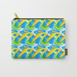 3D Pattern_02 Carry-All Pouch