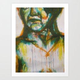 Loose painting Art Print