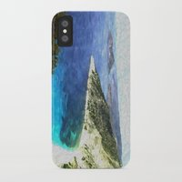 greek iPhone & iPod Cases featuring Greek coastline by Brian Raggatt