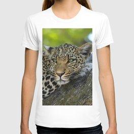 Aqua_Leopard_20180101_by_JAMColorsSpecial T-shirt