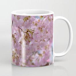 Watercolor Tree Pink DC Cherry Blossoms 02, Meadowlark Gardens Coffee Mug