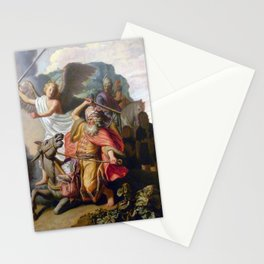 Rembrandt - Balaam and the Ass Stationery Cards