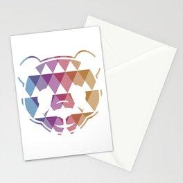 PANDA TRIANGLE (white) Stationery Cards