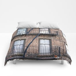 New York Fire Escape Comforters