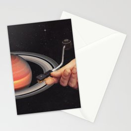 Galactic DJ Stationery Cards