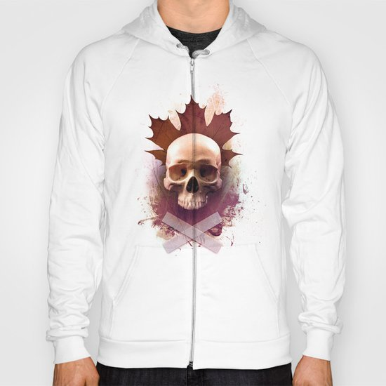 Skull and Leaf Hoody