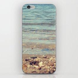 vintage beach iPhone Skin