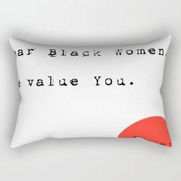 Dear Women Rectangular Pillow