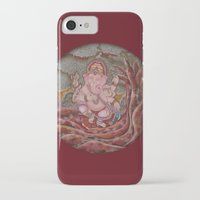 ganesha iPhone & iPod Cases featuring Ganesha by Sincronizarte