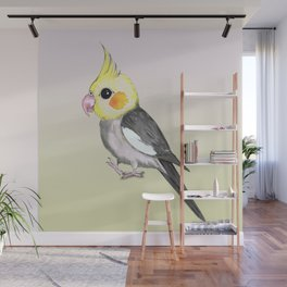 Very cute cockatiel Wall Mural