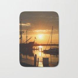 Boat Sunrise 1 Bath Mat
