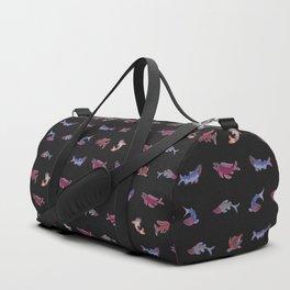 Salmon - dark Duffle Bag