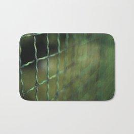 Old Grid Bath Mat