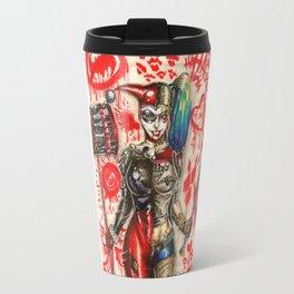 Harley Quinn- Old vs. New Travel Mug