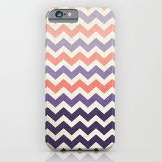 Pink Purple Chevron iPhone 6s Slim Case