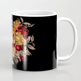 Watercolor Floral Pattern Coffee Mug