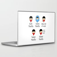 merlin Laptop & iPad Skins featuring Soft Merlin, Warm Merlin... by sirwatson