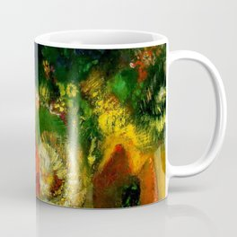 "Odilon Redon ""The Red Sphinx"" Coffee Mug"