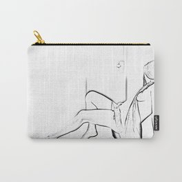Pure nude Carry-All Pouch