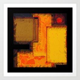NY City Blocks Art Print