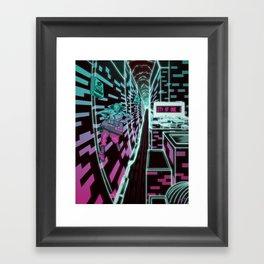 City of one Framed Art Print