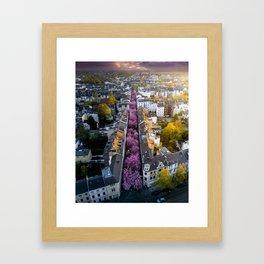 Colorful Street Framed Art Print