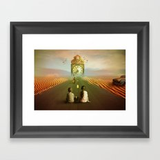 Time to grow up Framed Art Print