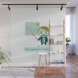 This is a good time for friendly hugs Wall Mural