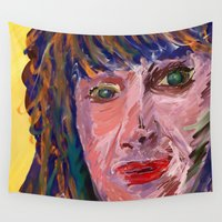 michael scott Wall Tapestries featuring Michael by Paul Kimble
