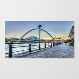 Newcastle Quayside Canvas Print