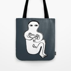happily Tote Bag