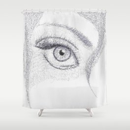 Wordplay Shower Curtain