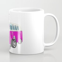 Cute pink bus Coffee Mug