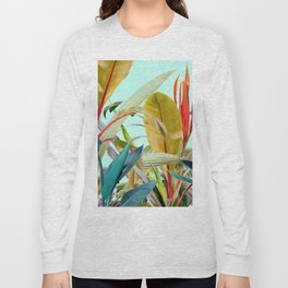 Tropical Jungle Long Sleeve T-shirt