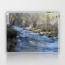 Chanchelulla Creek in Hayfork, California Laptop & iPad Skin