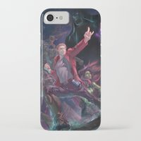 starlord iPhone & iPod Cases featuring Guardians Of The Galaxy by Arashi.C