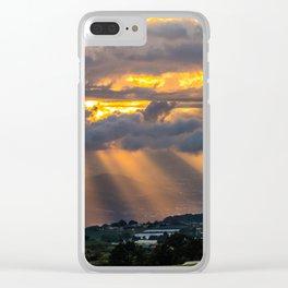 Sunset Cartago, Costa Rica Clear iPhone Case