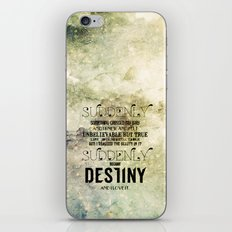 Suddenly iPhone & iPod Skin