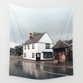 Rain storm in England Wall Tapestry