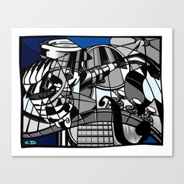Jam Session (Euphony) Canvas Print