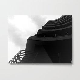 Curve Metal Print
