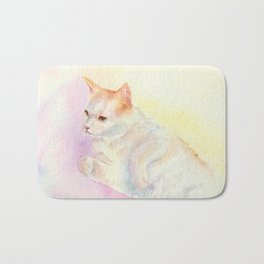 Playful Cat III Bath Mat