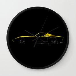 Lamborghini Miura Wall Clock